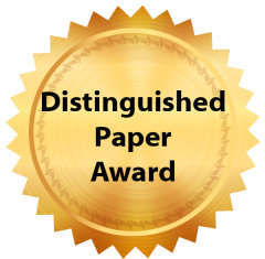 Distinguished Paper Award