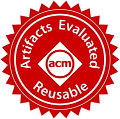 Artifacts Evaluated – Reusable